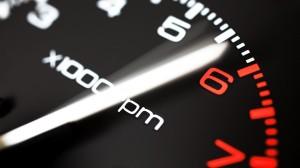 Velocímetro de um carro elétrico