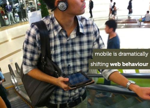 O mobile está mudando a forma da web