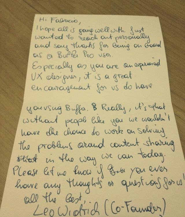 Carta do Buffer