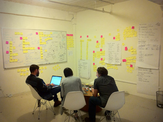 UX e post-its